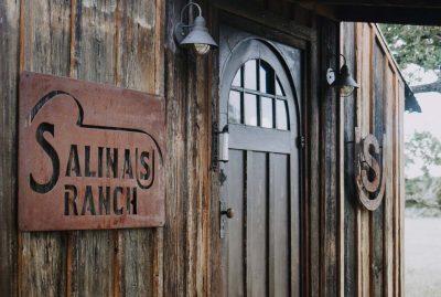 Salinas Ranch Lodge front door